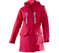 Owney Damen-Langjacke  Arnauti  vintage red
