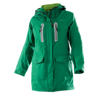 Owney Damen-Langjacke  Arnauti  ivy green grün
