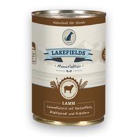 Lakefields Dosenfleisch-Menü Nassfutter Lamm 6 x 400 g