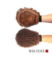 Wolters Dirty Dog Grooming Mitt -der perfekte Handschuh für die Fellpflege braun