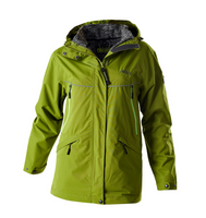 Owney Winterjacke Damen Doppeljacke Senda cedar green