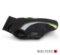 Wolters Outdoorjacke Hundejacke Xtra Strong schwarz/grau mit neon-grün
