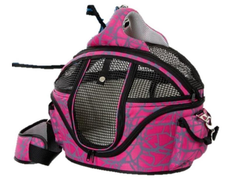 Hunde Flugtasche & Tragetasche Pink bis 12 kg ...