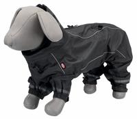 Regen-Overall Vaasa Hundemantel Hundejacke Schwarz