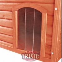 Kunststofftür für NATURA Flachdach - Hundehütte