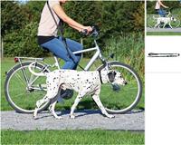 Fahrrad- und Joggingleine Fahrradleine Joggingleine Hundeleine zum joggen Schwarz
