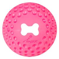 Wolters ROGZ Gumz-Ball zum Befüllen S - L pink Hundeball