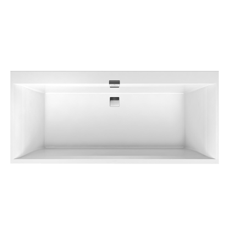 villeroy boch squaro edge 12 badewanne aus quaryl 170 x 75 cm mit tr ger f e ebay. Black Bedroom Furniture Sets. Home Design Ideas