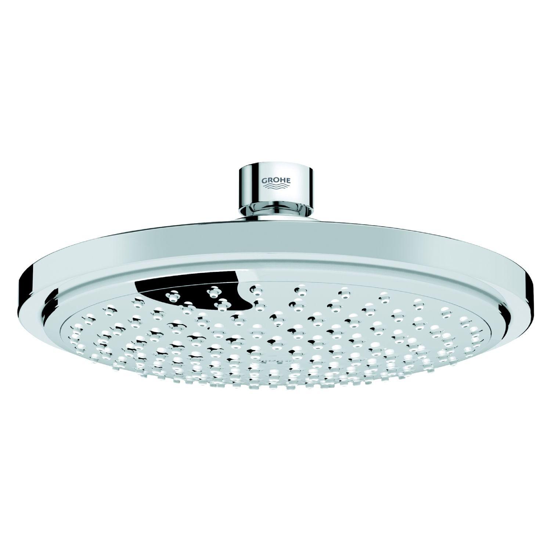 grohe duschsystem euphoria thermostat aufputz brausearm 390 mm 27420 001. Black Bedroom Furniture Sets. Home Design Ideas