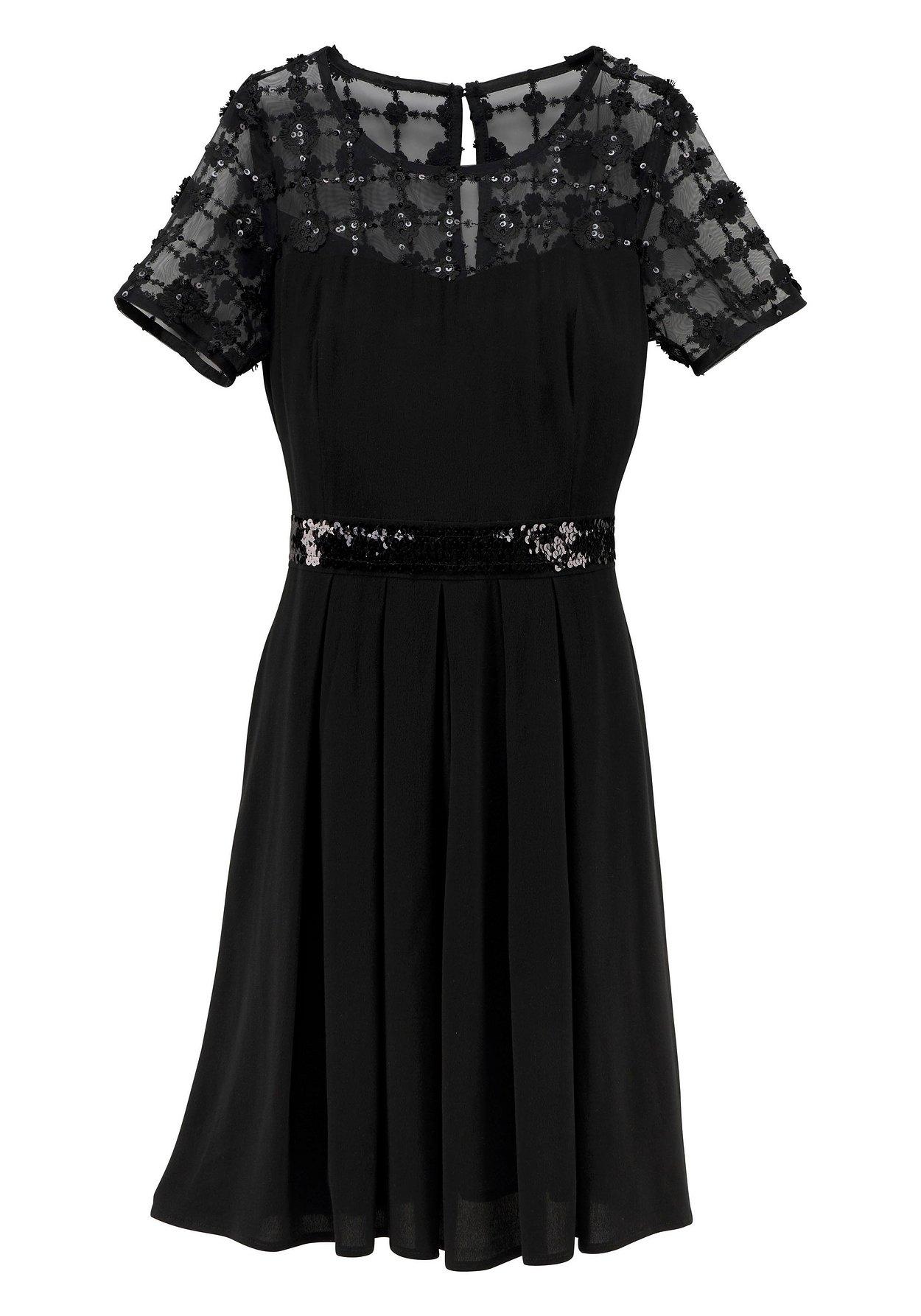 GUIDO MARIA KRETSCHMER Cocktailkleid in schwarz, Gr. 46 | eBay