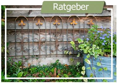 Bauerngarten - Staudenhalter, Beetzaun und mehr
