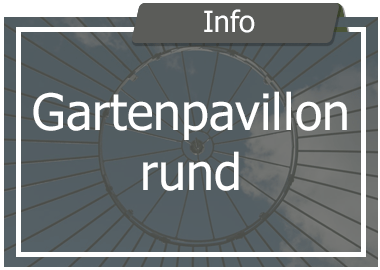 Gartenpavillon Metall rund