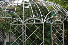 Gartenpavillon Metall Romantik Zink Ø290cm