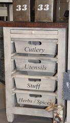 Küchenschrank m. Schubladen