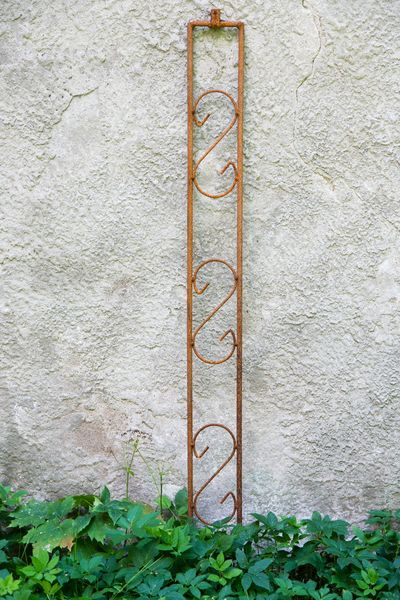 Laubengangverbinder verziert rost 10mm