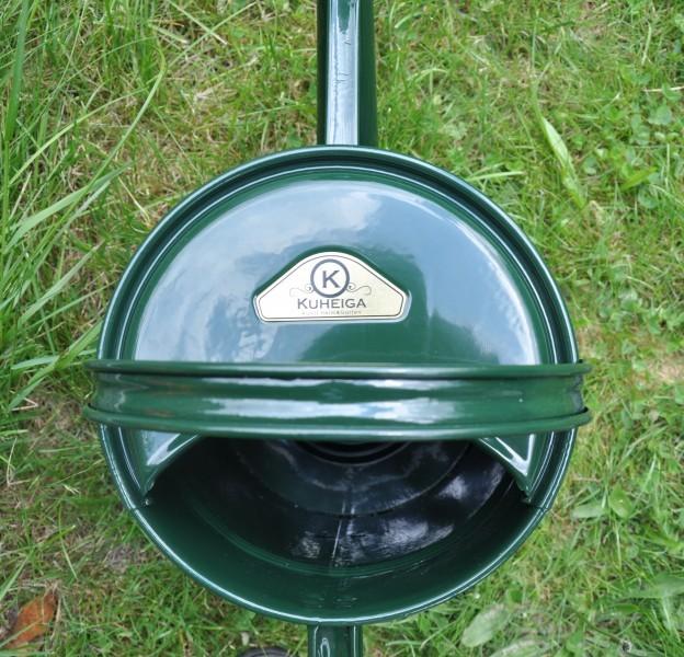 Gießkanne Metall Grün 9 Liter