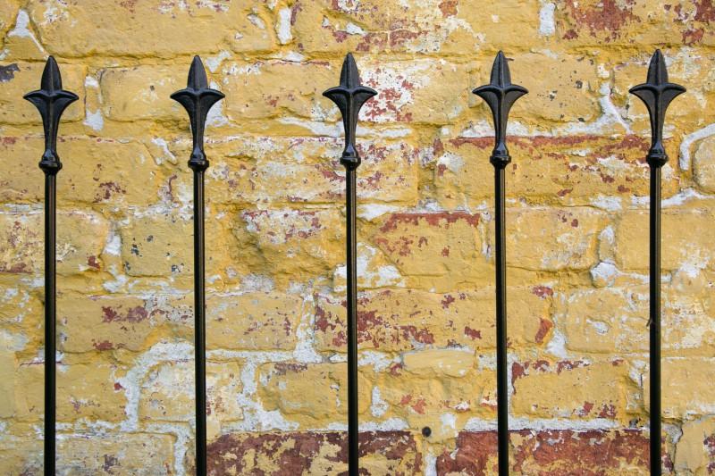 Rankgitter Metall London schwarz