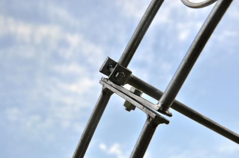 Laubengang rund 200cm Breite Metall Verzinkt