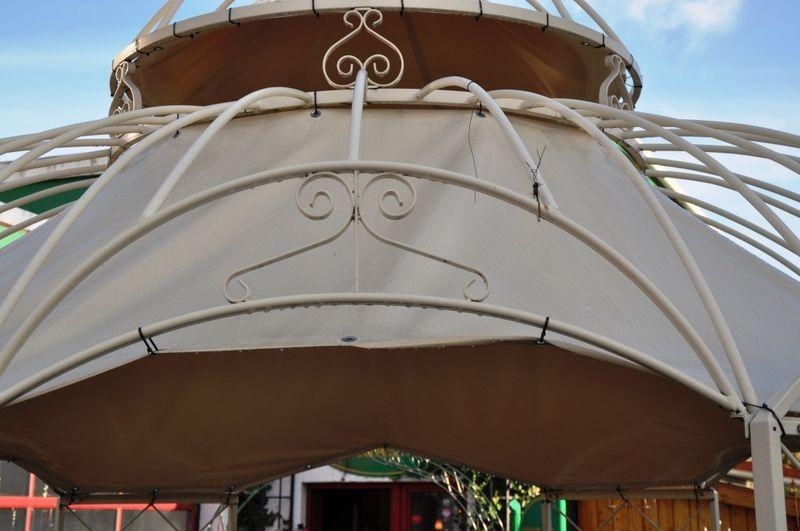 Sonnenschutz für Pavillon Romantik Ø 290cm