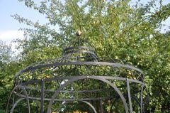 Gartenpavillon Eleganz Metall Schwarz