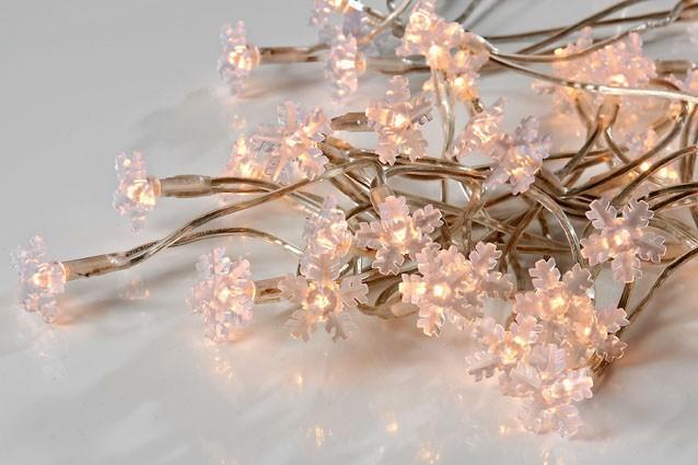 Lichterkette Snowflakes