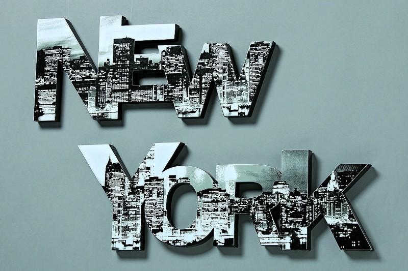 Wandbild Wandobjekt New York 2 tlg.