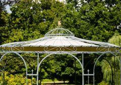 Sonnenschutz für Gartenpavillon Metall Eleganz Ø 350cm
