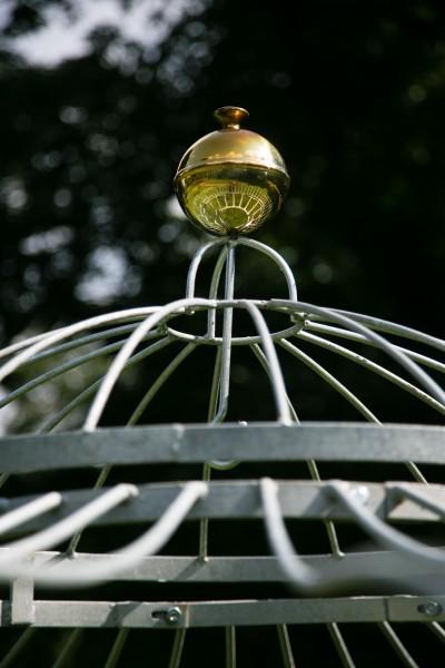 Gartenpavillon Metall Verzinkt + Farbe Ø 250cm Eleganz