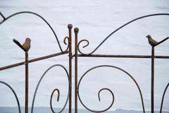 Beetzaun Birdy, Roheisen / Rost