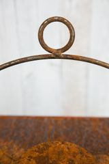 Laterne  100cm , Rost