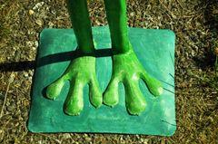 Metallfrosch Kurt der Froschkönig, klein