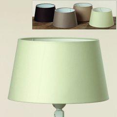 Lampenschirm Lela, Weiß - Creme