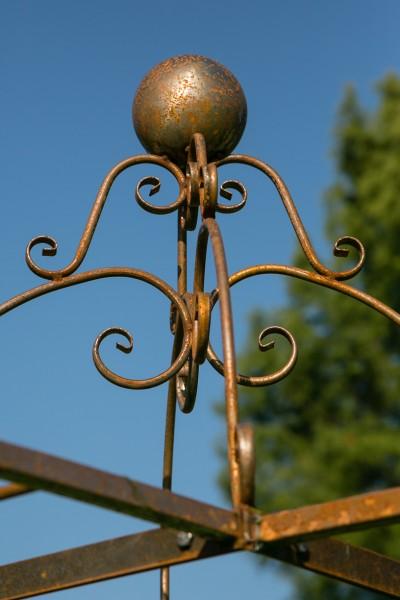 gartenpavillon metall sydney roheisen rost 230cm. Black Bedroom Furniture Sets. Home Design Ideas