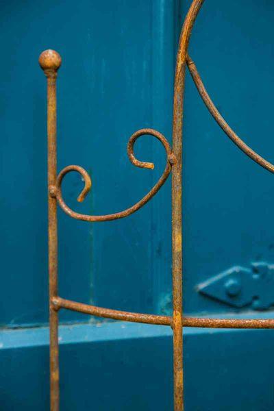 Beetzaun halbrund Emma Rost