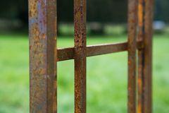 Rosenbogen Metall Florenz, Rost