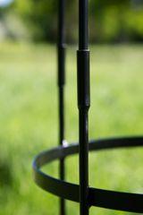 Rankgerüst Metall SCHWARZ H: 300cm hoch