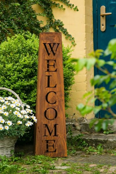 Welcome Ständer / Säule H: 97cm Rost