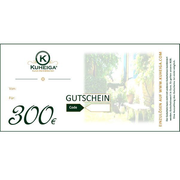 Gutschein 300EUR