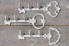 Wandhaken / Hakenleiste  Schlüssel, sortiert