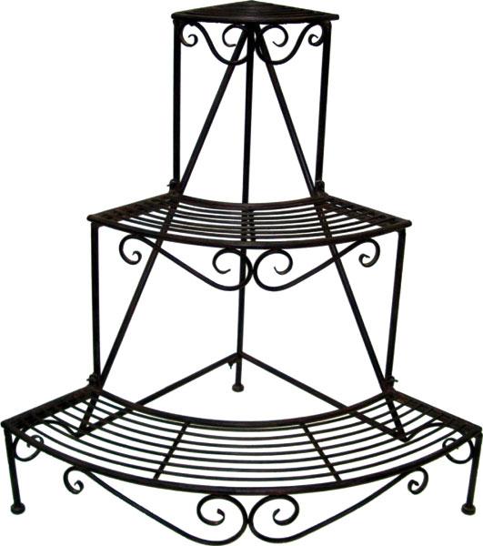 blumentreppe metall golan. Black Bedroom Furniture Sets. Home Design Ideas