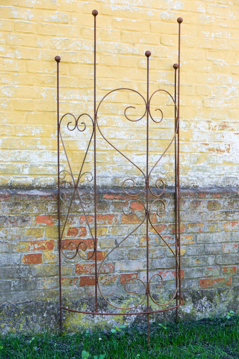 Rankgitter Metall Rost : rankgitter halbrund metall rost dublin ~ Watch28wear.com Haus und Dekorationen