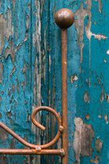 Rankgitter / Rankzaun Metall Rost, Mailand