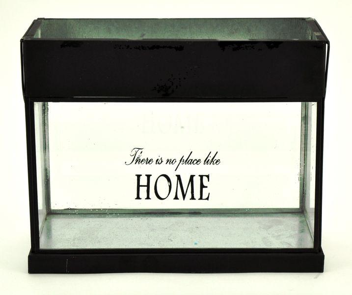 """Windlicht / Laterne """"Home"""" Breite: 26cm"""