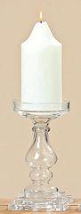 "Kerzenständer aus Glas, "" Klaro """