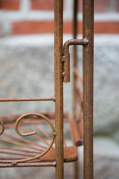 Eckregal Metall, Edel - Rost