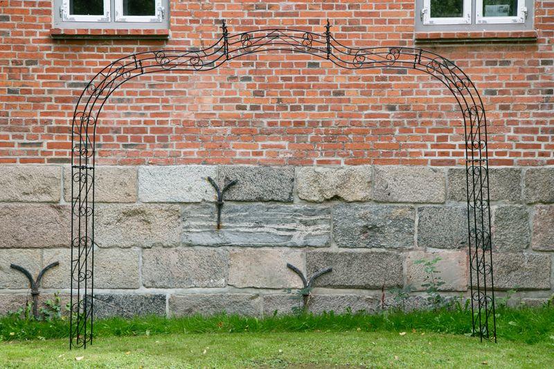 Rosenbogen Breite: 335cm Schwarz