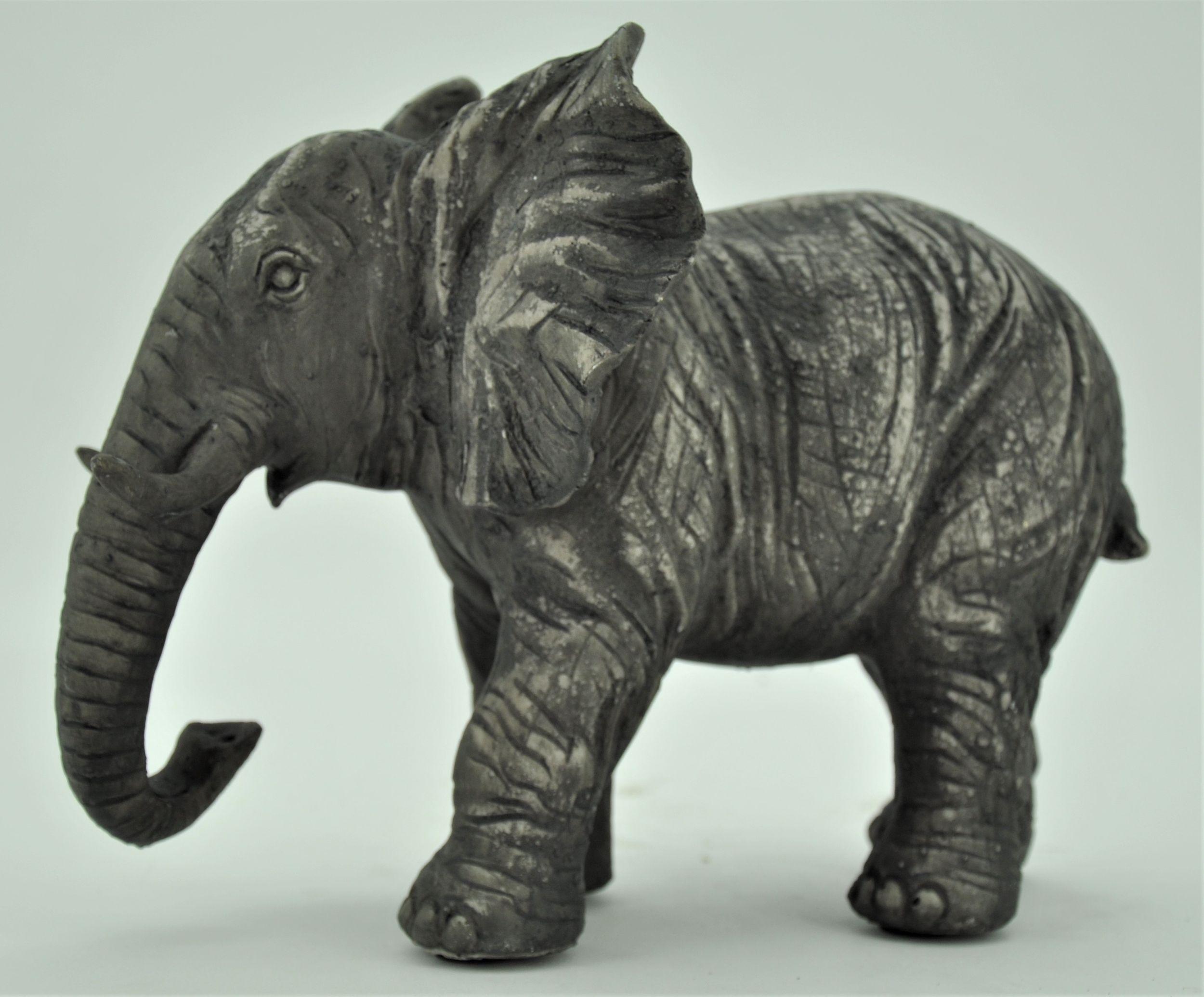 dekofigur skulptur elefant jimmy 22 5cm hoch. Black Bedroom Furniture Sets. Home Design Ideas