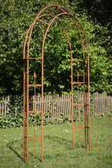 Rosenbogen Metall Turin / Breite: 180cm, Rost