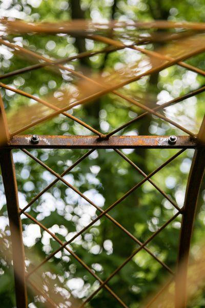 Rosenbogen Metall Lissabon / Breite: 150cm, Rost