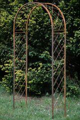 Rosenbogen Metall Lissabon klein / Breite: 100cm, Rost